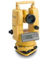 "Topcon DT-207L 7"" Waterproof Digital Theodolite with Laser Pointer 60216"