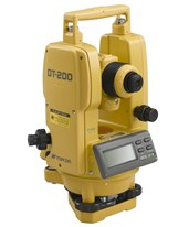 Topcon DT-209L Waterproof Digital Theodolites with Laser Pointer 60217