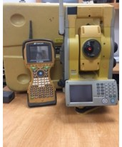 Topcon GPT-9005A Robotic Total Station  Set and FC-2600 date collector with  software