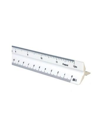 """Triangular Scales Plastic Metric 30CM (12"""") 1170PM"""