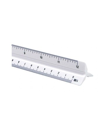 Combination Scale Metric and inch 1200PC