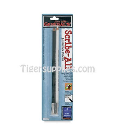 SCRIBE-ALL PENCILS BLK & WHT 1256GMP