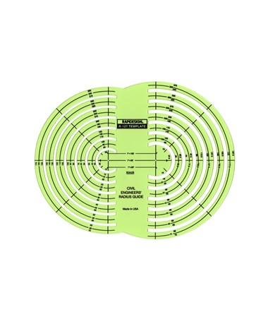 Civil Engineers' Radius Guide 127R