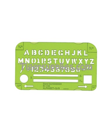 Alphabet 135R