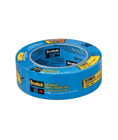 SAFE-RELEASE MASK TAPE 3/4x60 2090