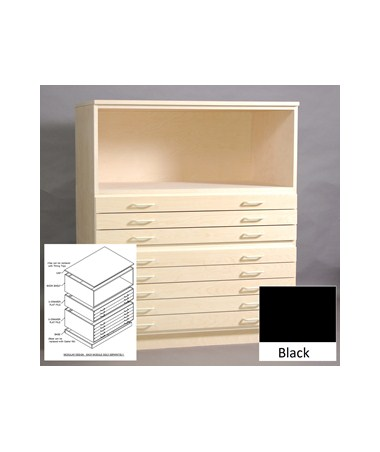 SMI Bookshelf for 30 x 42 Inch Melamine Plan File 3042 SM