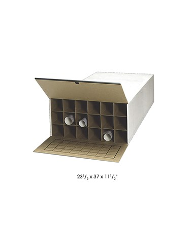 Safco Storage Roll File 18 Compartments 3094