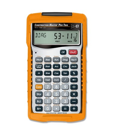 Calculated Industries Construction Master Pro Trig 4080