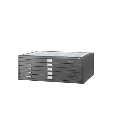 Safco 5-Drawer Steel Flat File 4996BLR