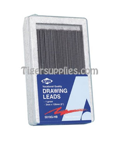 2mm DRAWING LEADS, 144/PK 5019G-HB