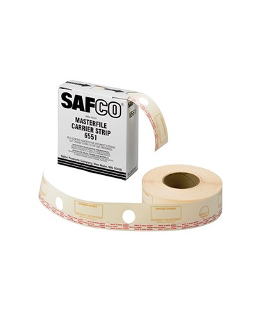 Safco Carrier Strips for MasterFile 2