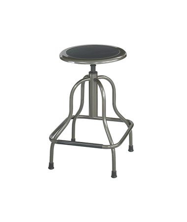"Safco Diesel Industrial Stool Hige base 16 1/4"" d x 22 1/2"" to 29""h 6665"