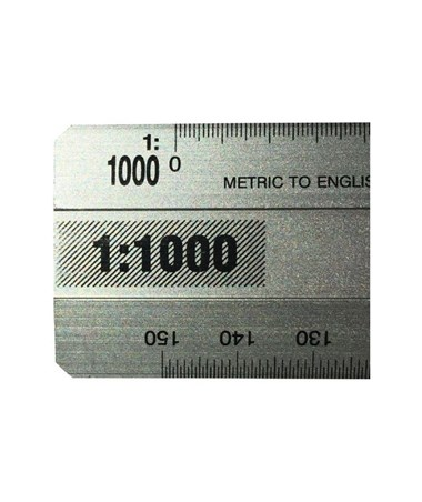 SCALE 300MM METRIC / ENGLISH 764PM