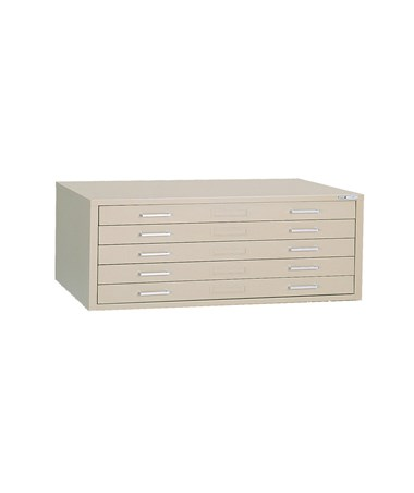Mayline C File 5 Drawer Steel Flat File 30 x 42 7868C