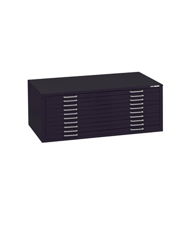 Mayline C File 10 Drawer Steel Flat File 24 x 36 7977C