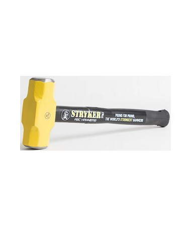 ABC Stryker Pro 6 Pounds with 16 Inches Steel Reinforced Handle Sledge Hammer ABCPRO616S