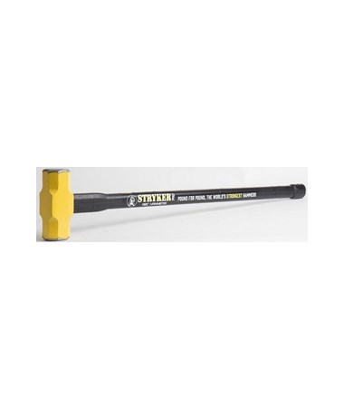 ABC Stryker Pro 8 Pounds with 36 Inches Steel Reinforced Handle Sledge Hammer ABCPRO836S