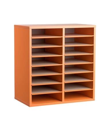16 Compartments - Orange