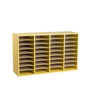 36 Compartments - Yellow