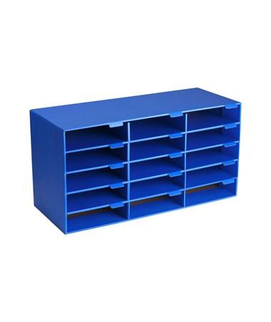 AdirOffice Classroom File Organizer ADI501-15-BLU
