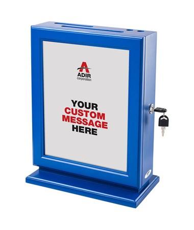 632 Adir Mahogany Customizable Wood Suggestion Box