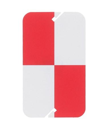 AdirPro Red and White Plastic Target ADI708-02