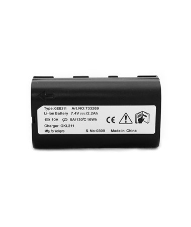 AdirPro GEB211 Li Ion Battery for Leica Field Controller and GNSS Receiver