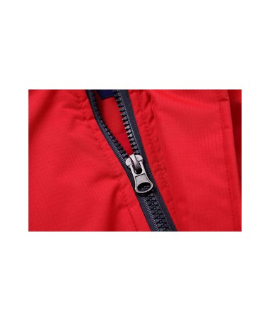 AdirPro Red Hooded Heated Jacket ADI781-RED
