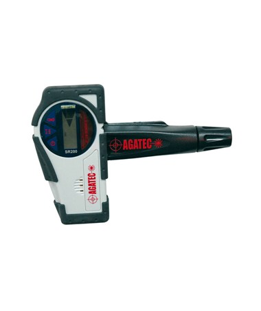 AGATEC 775115 SR200 Rotary Laser Level Detector with Clamp