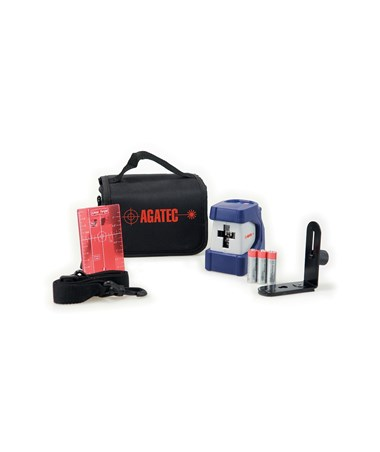 Agatec CL100 Self Leveling Cross Line Laser Level Kit