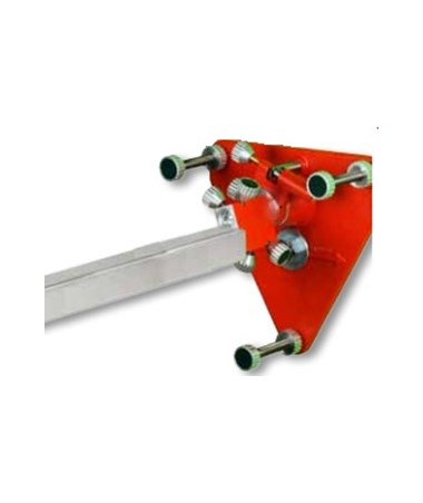 "Mounting Plate w/6"" Adjustable Legs & Fine Adjustment Block AGL9-09030"
