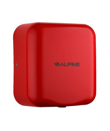 Alpine Hemlock High Speed Commercial Hand Dryer, Red, 120 Volts 400-10-RED