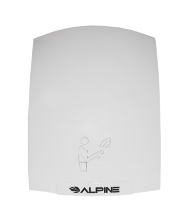 Alpine Hazel Hand Dryer, White ALP402-10-WHI