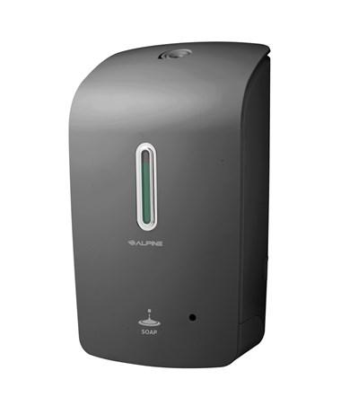 Alpine Automatic Hands-Free Liquid Soap Dispenser, Gray 421-GRY