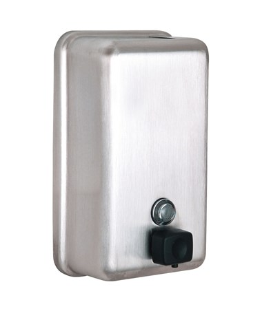 Alpine Manual Surface-Mounted Soap Dispenser ALP423-SSB-