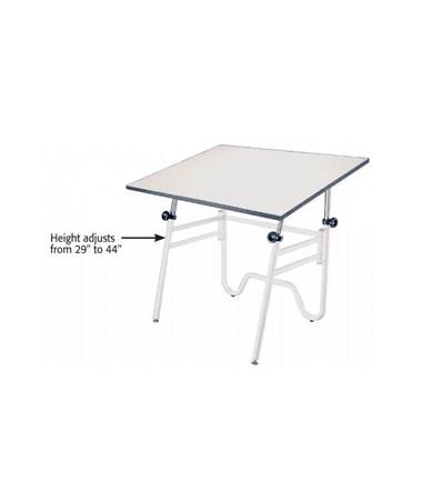 Alvin Opal White Base Drafting Table OP36-4