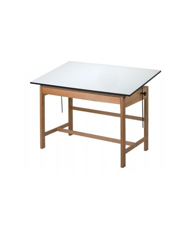 Alvin Titan II Drafting Table Base WLB