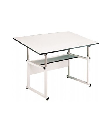 Alvin WorkMaster White Base Drafting Table WM48-4-XB