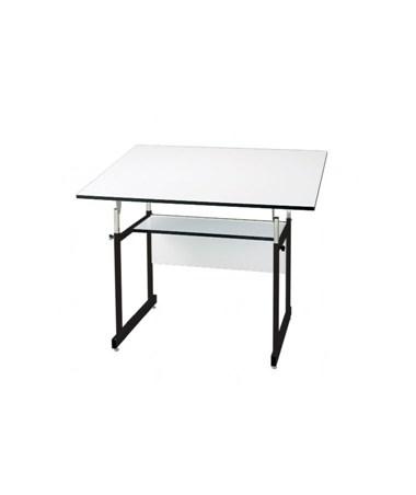 Alvin WorkMaster Jr. Black Base Drafting Table WMJ-3-XB