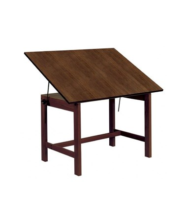 Alvin Titan Walnut Finish Drafting Table WOB42-WA