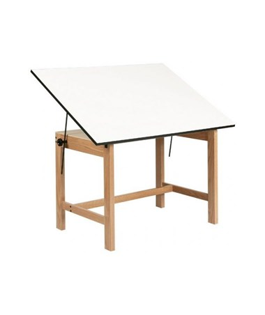Alvin Titan Solid Oak Wood Drafting Table WOB42