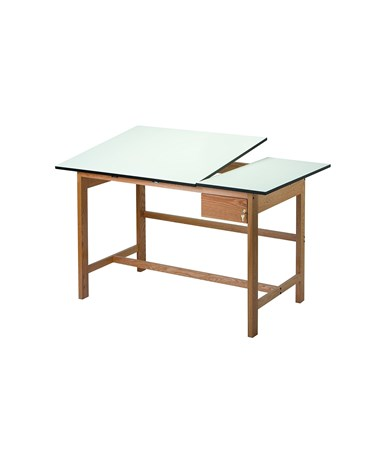 Alvin Titan II Split-top Drafting Table WSB60