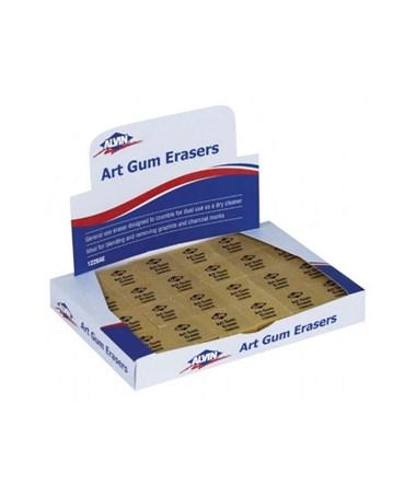 ART GUM ERASER 1X1X7/8 1220AE