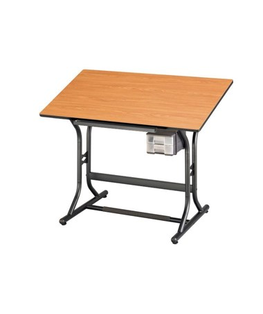 Alvin CraftMaster Jr. Cherry Woodgrain Top Drafting Table CM30-3-WBR