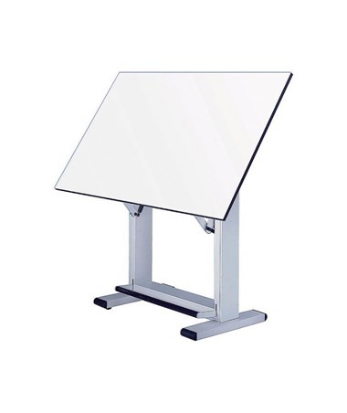 Alvin Elite White Base Drafting Table ET48-4