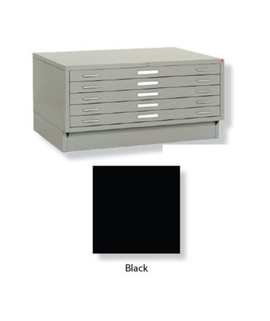 Archive Designs Museum 5 Drawer Steel Flat File 24x36 MTA40