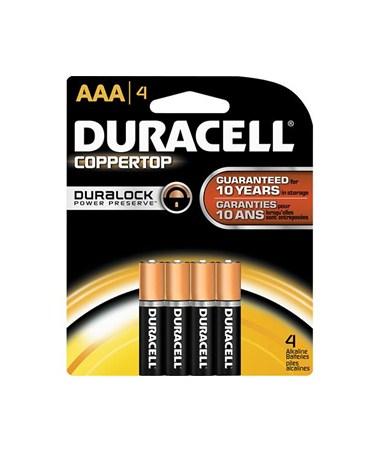Duracell - AAA Batteries (4-Pack) BATAAA4DUR