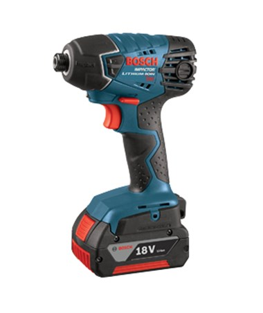 Bosch 25618-01 18V Lithium-Ion Impact  Driver with 2 Fat Pack Batteries BOS25618-01
