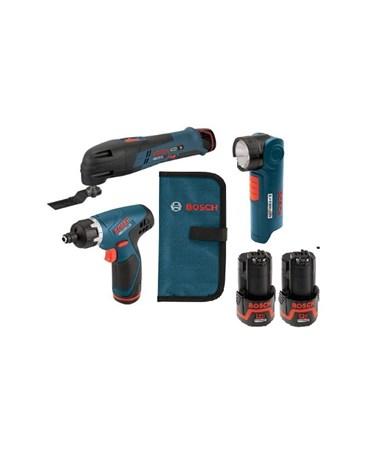 Bosch CLPK31-120 12V Max 3-tool Lithium-Ion Cordless Combo Kit BOSCLPK31-120
