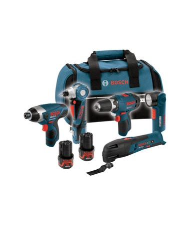 Bosch CLPK50-120 12V Max 5-tool Lithium-Ion Cordless Combo Kit BOSCLPK50-120